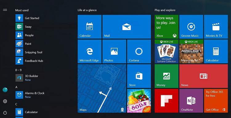 This Is the New Win 10 Start Menu Launching with Anniversary Update-new-windows-10-start-menu-launching-anniversary-update-502530-2.jpg