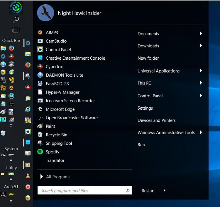 Click image for larger version.  Name:Start10-Taskbar Quick Launch combo.jpg Views:3 Size:71.6 KB ID:73694