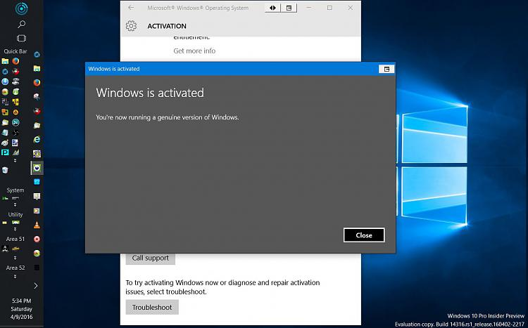 Click image for larger version.  Name:Activation Prompt Insider 14316 Reactivated with Key.jpg Views:3 Size:100.6 KB ID:74025