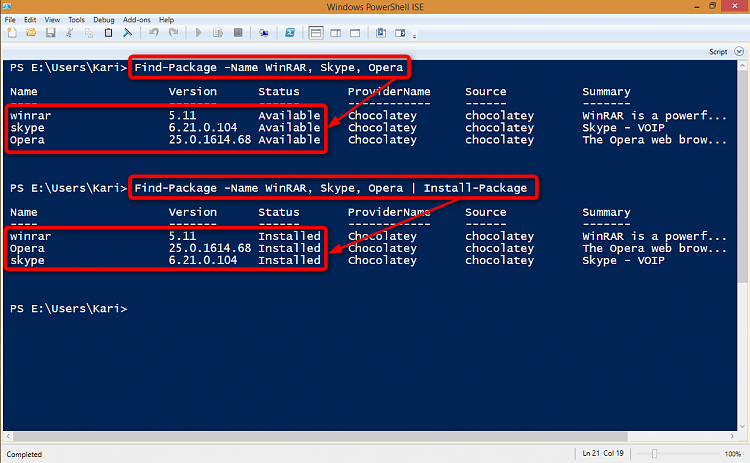 Windows 10 Includes a Linux Style Package Manager-2014-10-31_03h26_01.png