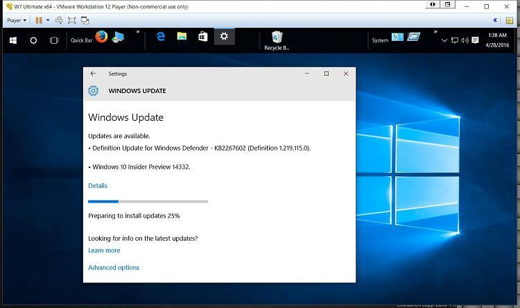 Click image for larger version.  Name:14332 Insider Build Arrives on VM.jpg Views:3 Size:118.3 KB ID:77110