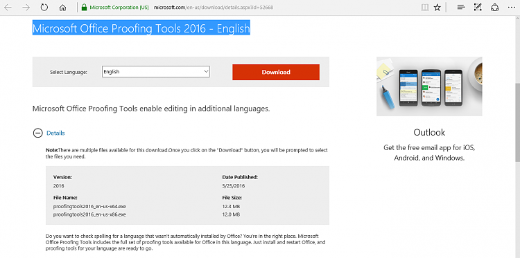 Microsoft Office Proofing Tools 2016 Office - Windows 10 Forums