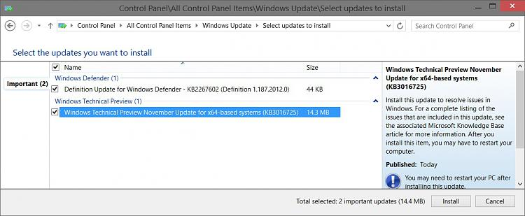New Windows 10 Preview build 9879 available-windows_update_kb3016725.jpg