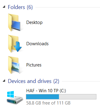 New Windows 10 Preview build 9879 available-folders.png