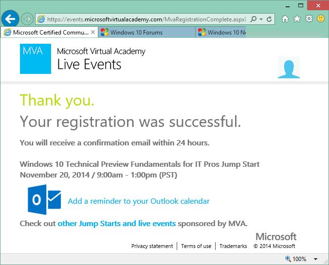 MVA: Windows 10 Technical Preview Fundamentals for IT Pros-mva04-thankyou.png