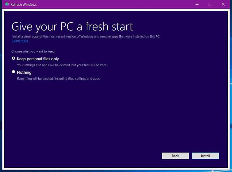 Click image for larger version.  Name:microsoft-s-tool-to-clean-install-windows-10.jpg Views:8 Size:30.0 KB ID:85375