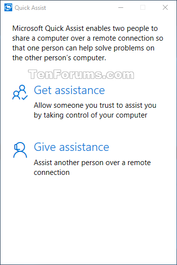 Announcing Windows 10 Insider Preview Build 14383 for PC and Mobile-quick_assist.png