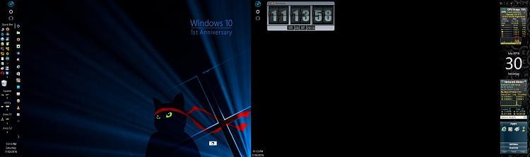 Click image for larger version.  Name:W10 Insider First Year Anniversary Wallpaper Applied.jpg Views:9 Size:169.2 KB ID:93116