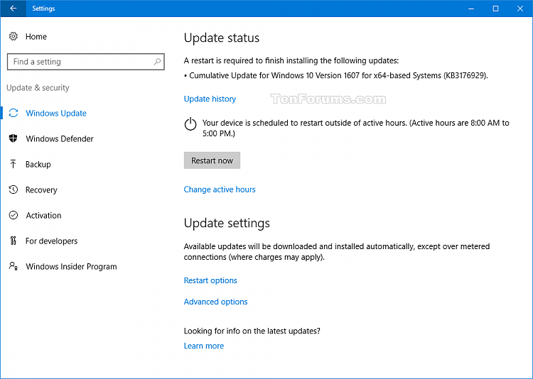 Cumulative Update KB3176929 for Windows 10 version 1607 build 14393.10-kb3176929.png