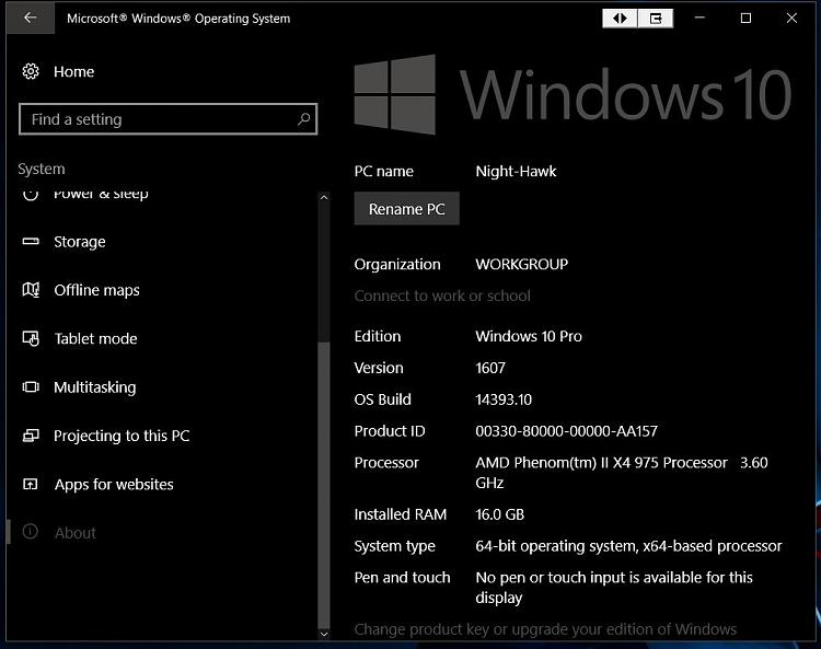 Click image for larger version.  Name:1st Anniversary Build Version 1607 Build 14393-10.jpg Views:7 Size:89.7 KB ID:93767