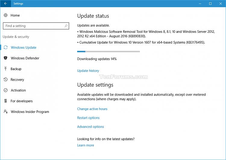 Windows 10 kb 3189866 не скачивается - 5e0e1