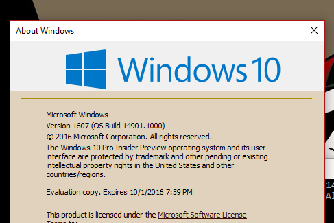 Announcing Windows 10 Insider Preview Build 14901 for PC-winver.png