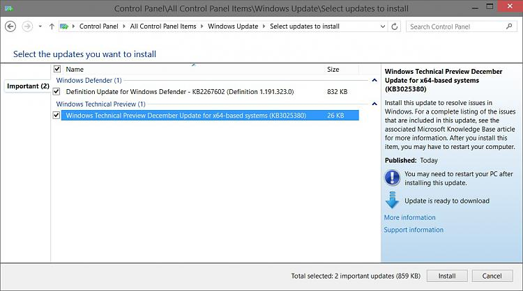 New KB3025380 Update for Windows 10 FBL_AWESOME branch-kb3025380.jpg