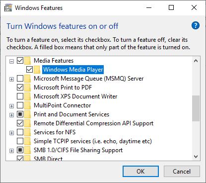 Windows media player gone? - Windows 10 Forums