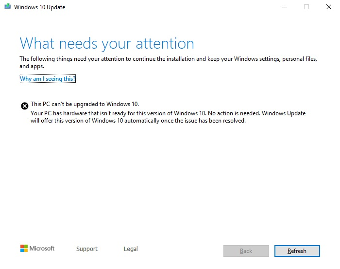 Can't upgrade to v1903 from v1809-windows-10.jpg