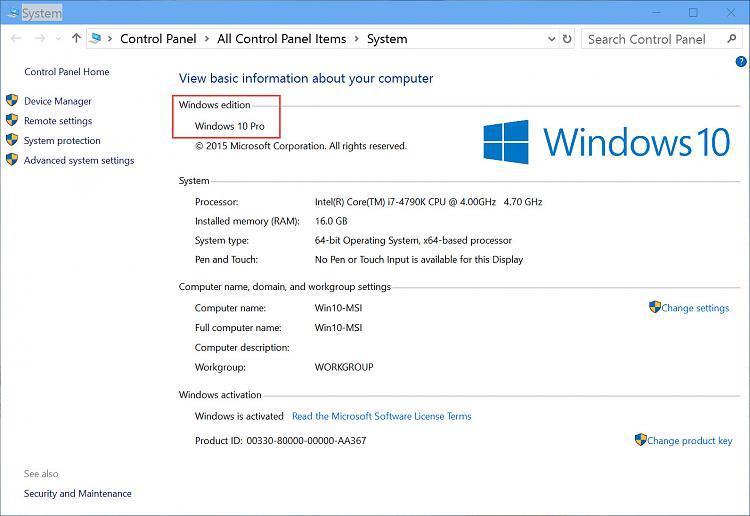 windows insider product key