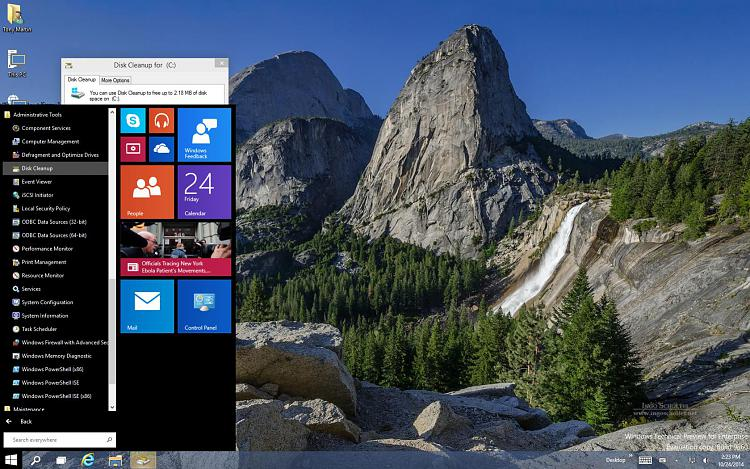 Click image for larger version.  Name:Windows10 64 Bit Enterprise Tech Preview-2014-10-24-14-23-44.jpg Views:273 Size:301.8 KB ID:7399