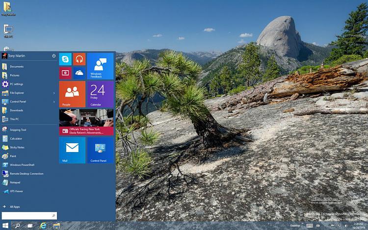 Click image for larger version.  Name:Windows10 64 Bit Enterprise Tech Preview-2014-10-24-14-29-47.jpg Views:146 Size:332.5 KB ID:7400