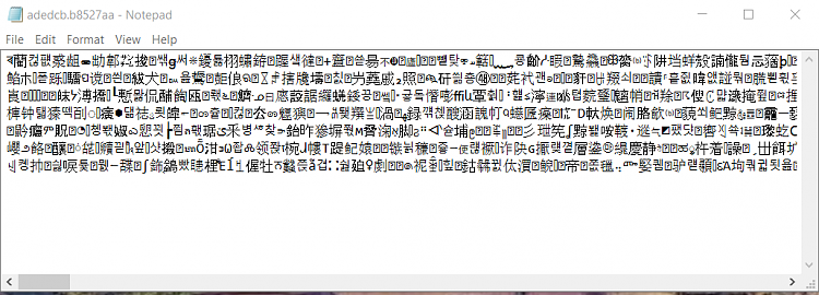 Click image for larger version.  Name:b8527aa in Notepad.PNG Views:3 Size:71.8 KB ID:86676