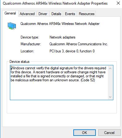 Click image for larger version.  Name:Qualcom-Error.PNG Views:47 Size:16.6 KB ID:102396