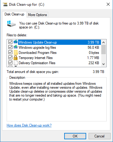 how to clear out windows updates