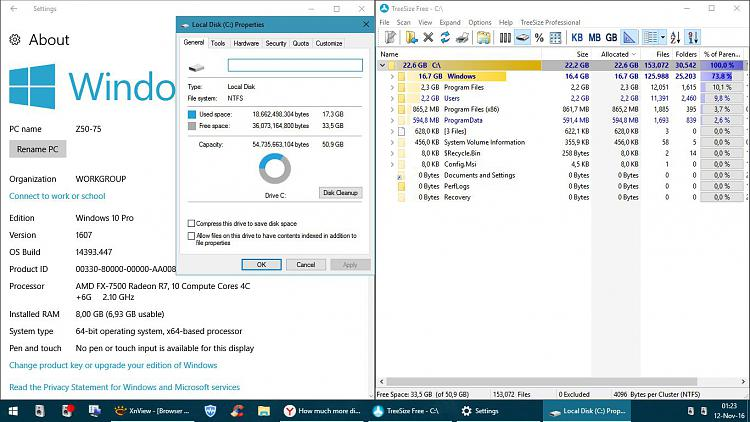 How much more disk space does the Anniversary Update use up? Solved - Windows 10 Forums
