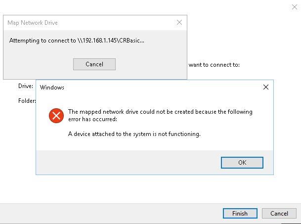 Map Drive Error Normal Login1 error.jpg