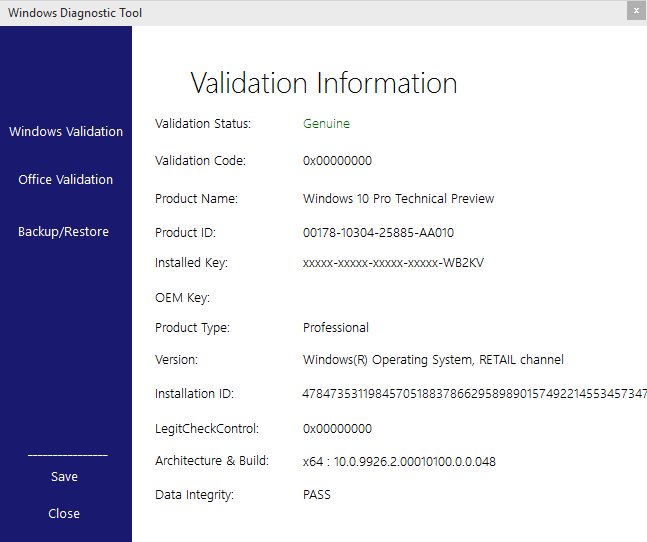 how to activate windows 10 retail key