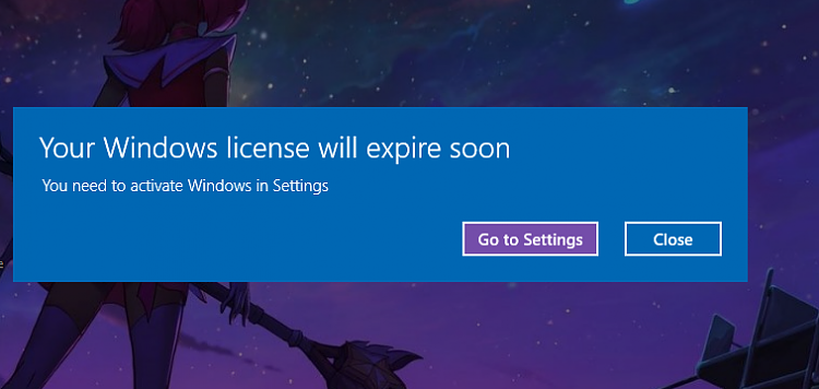win 10 does not activate