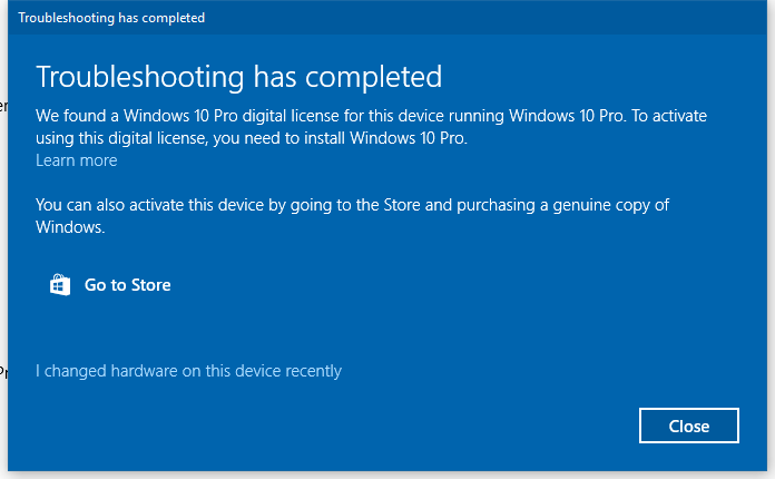 you need to activate windows