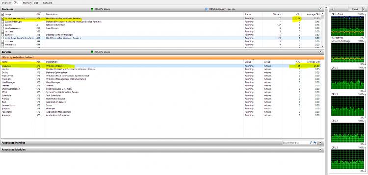 netsvcs memory usage high
