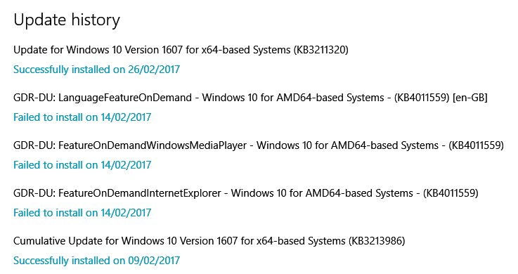 Click image for larger version.  Name:pc update history.jpg Views:36 Size:99.4 KB ID:125468