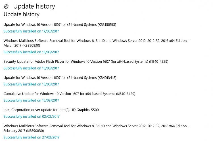 Click image for larger version.  Name:dell update history.jpg Views:3 Size:138.6 KB ID:125469