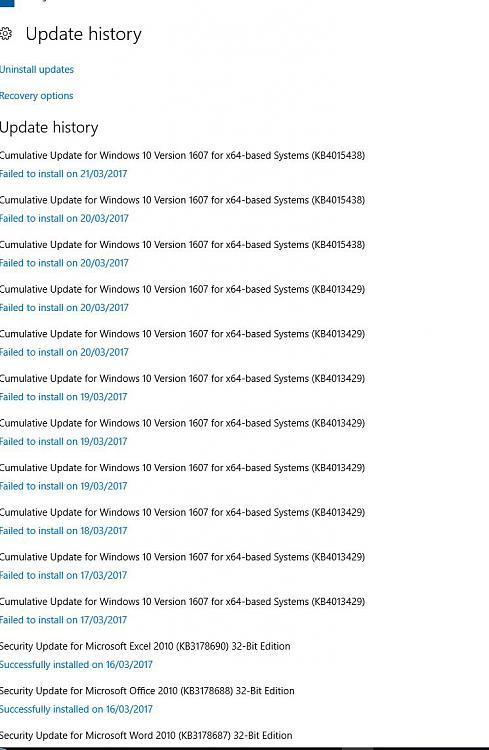 Latest windows update wont install - - Windows 10 Forums