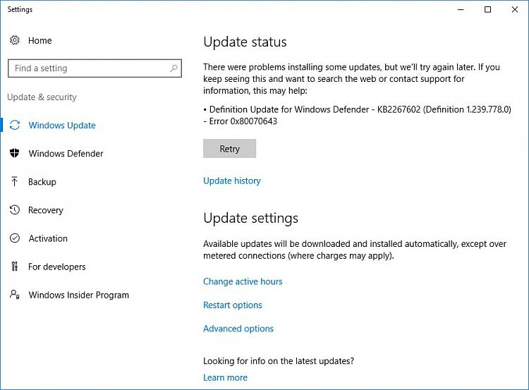 Click image for larger version.  Name:Windows Update Broke.jpg Views:2 Size:100.5 KB ID:128202