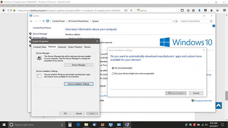 Windows 10 Update Error 0x Solved Windows 10 Forums