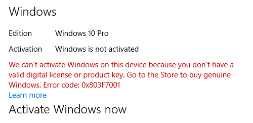 How to active my Windows 10 pro 64bit from old motherboard