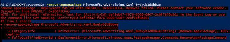 what is Microsoft advertising SDK for XAML update?-appx-rem-fail.jpg