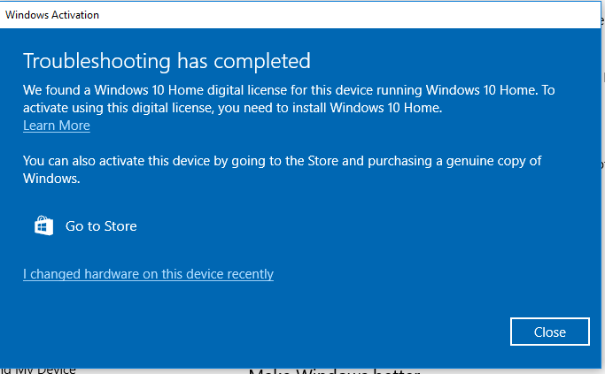 Windows 10 Activation Fail Error 0xc004f034 Solved