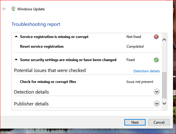 Cannot update WIN 10 build 10586 getting error 0x800705b4-image.png