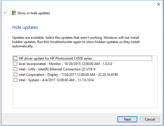Problem associated with update KB4038788-updates-1.png