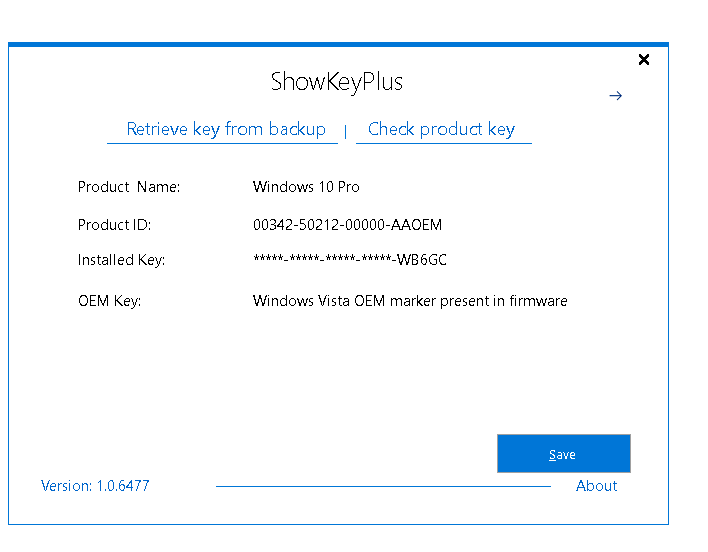 how to find my windows 10 product key online