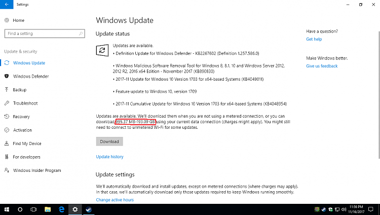 Windows update now working-insane.png