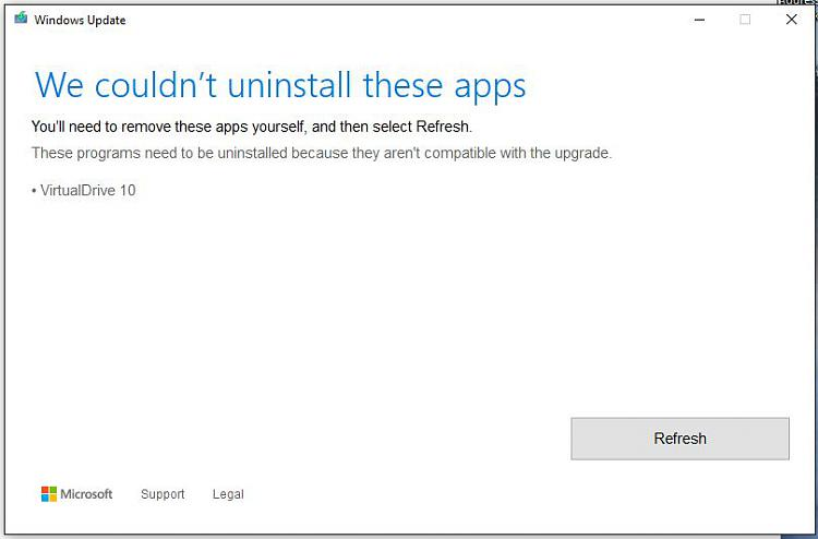 Windows 10 feature update download