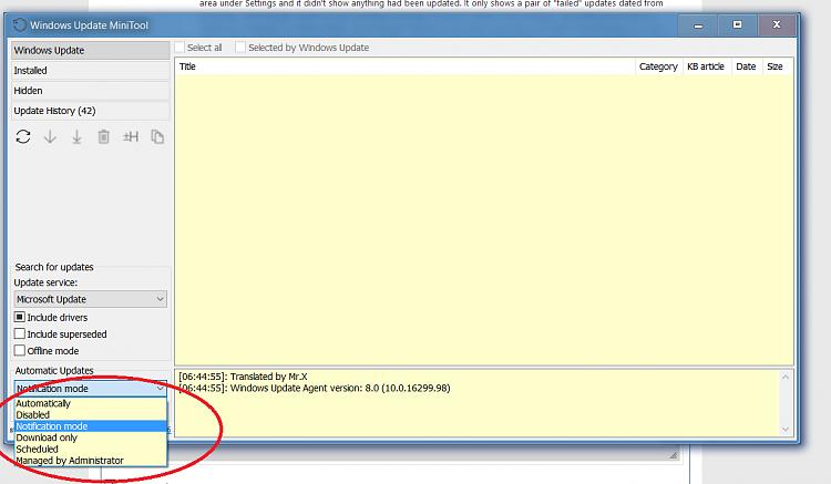 Please help me disable Windows Update - Windows 10 Forums
