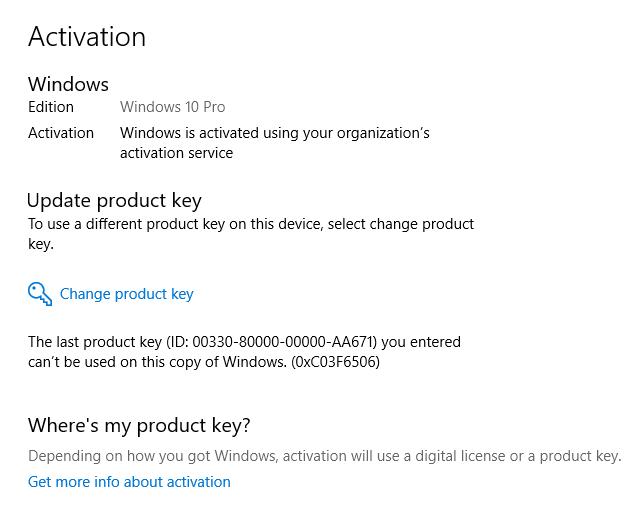 windows 10 pro volume license key