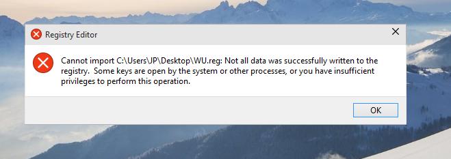 How do I hide Windows Update, Windows 10 Build 10061?-regerror.png