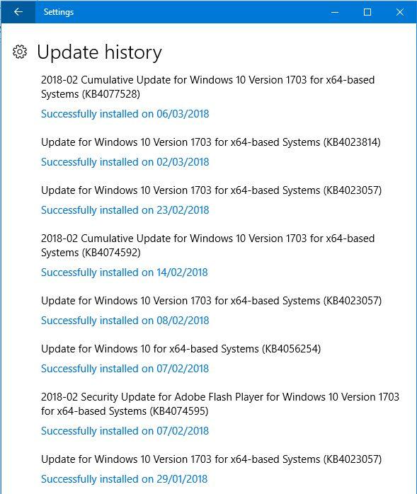 Feature update version 1709 problem-winupdatehistory.jpg