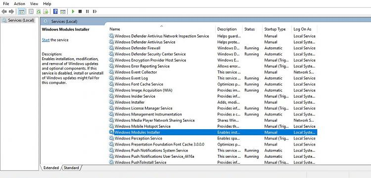 Click image for larger version.  Name:Windows Modules Service.jpg Views:1 Size:187.4 KB ID:181631