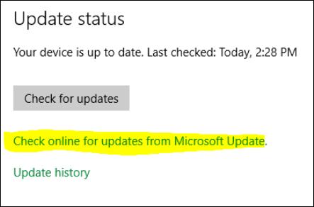 windows 10 online upgrade